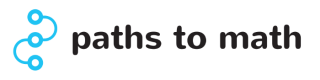 Paths to math logo